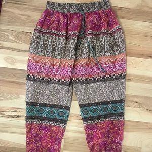 UO patterned joggers